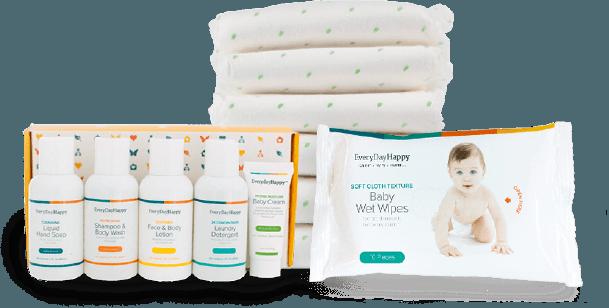 FREE Diaper & Wipe Kit From EveryDayHappy