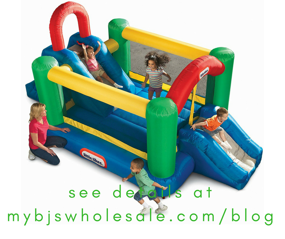 Little Tikes Jump & Double Slide Bouncer Now $235