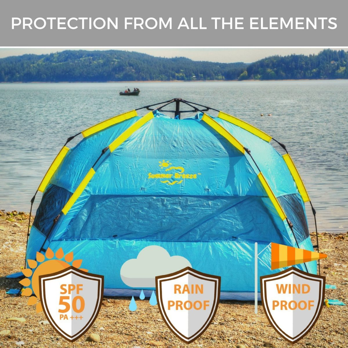 $50 Coupon for Summer Breeze Pop Up Tent ($49)