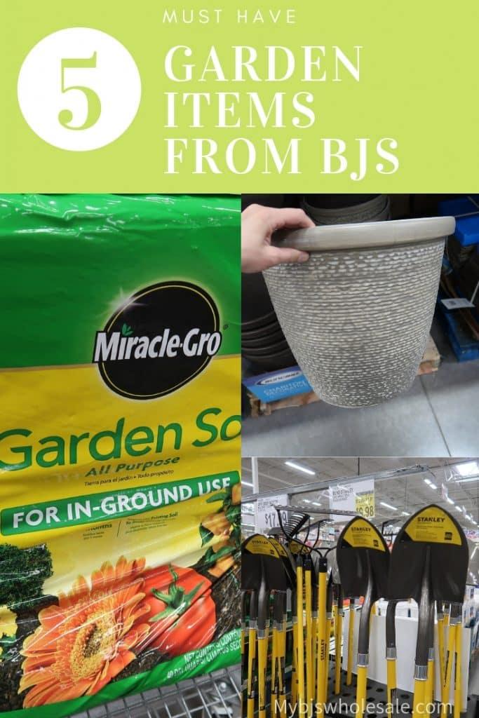garden items at BJs to buy