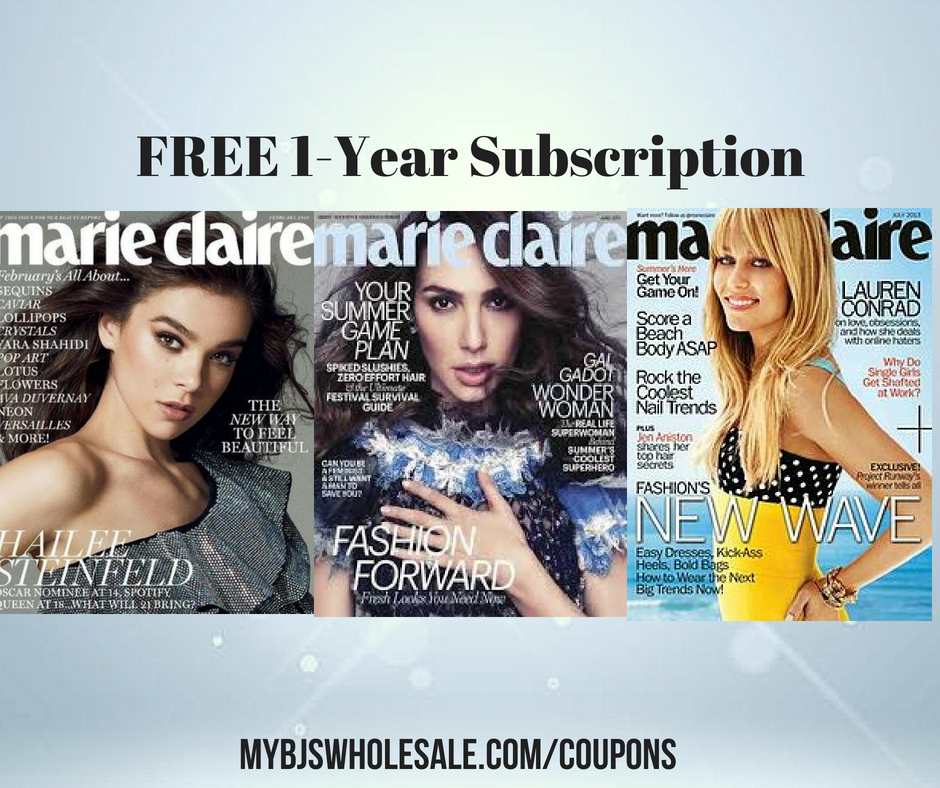*HOT* Marie Claire Magazine | FREE