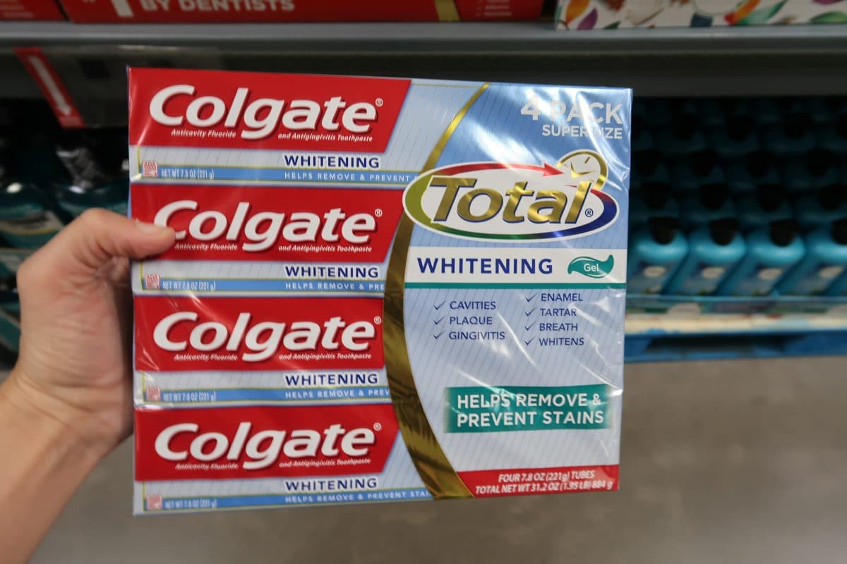 colgate total toothpaste bjs coupon deal
