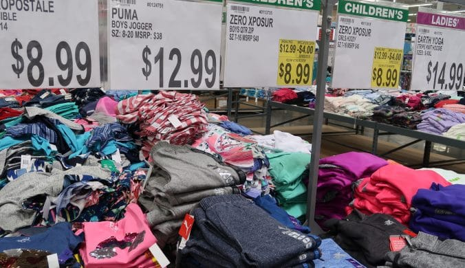 bjs fashion friday apparel deals