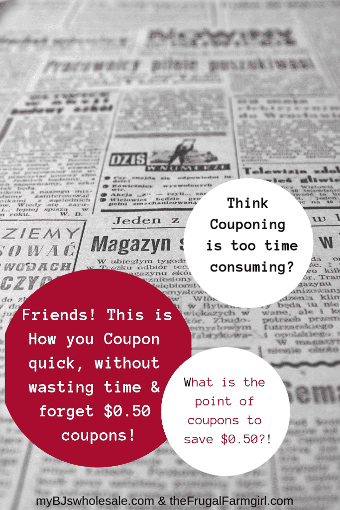 how to coupon and save time the new way