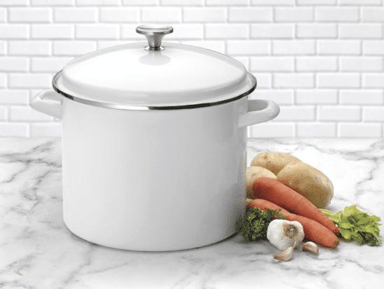 Cuisinart 12-Quart Enamel Stockpot for $27.33 (Reg. $100)