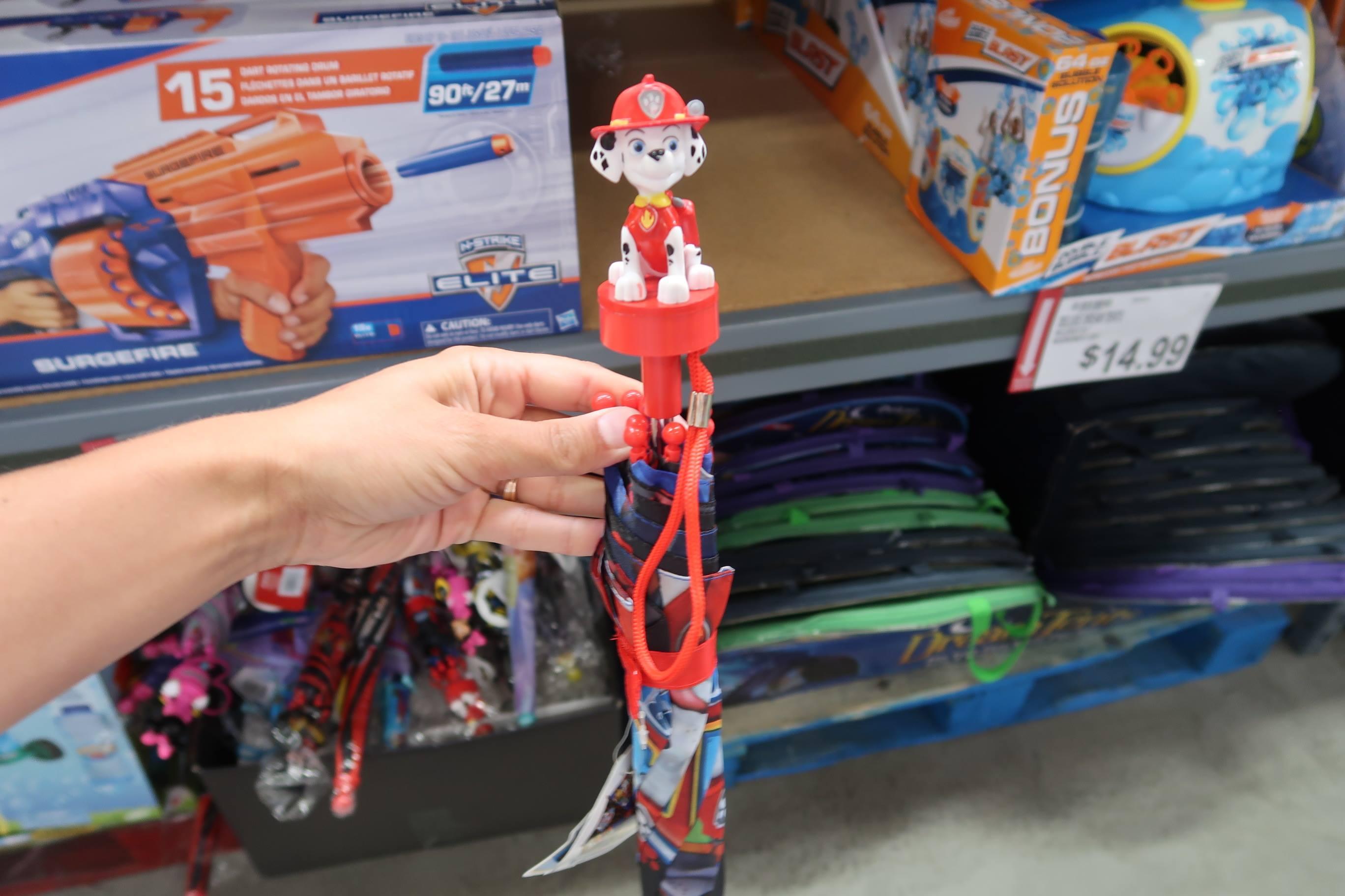 3D Hats & Kids Umbrellas Cheap at BJs
