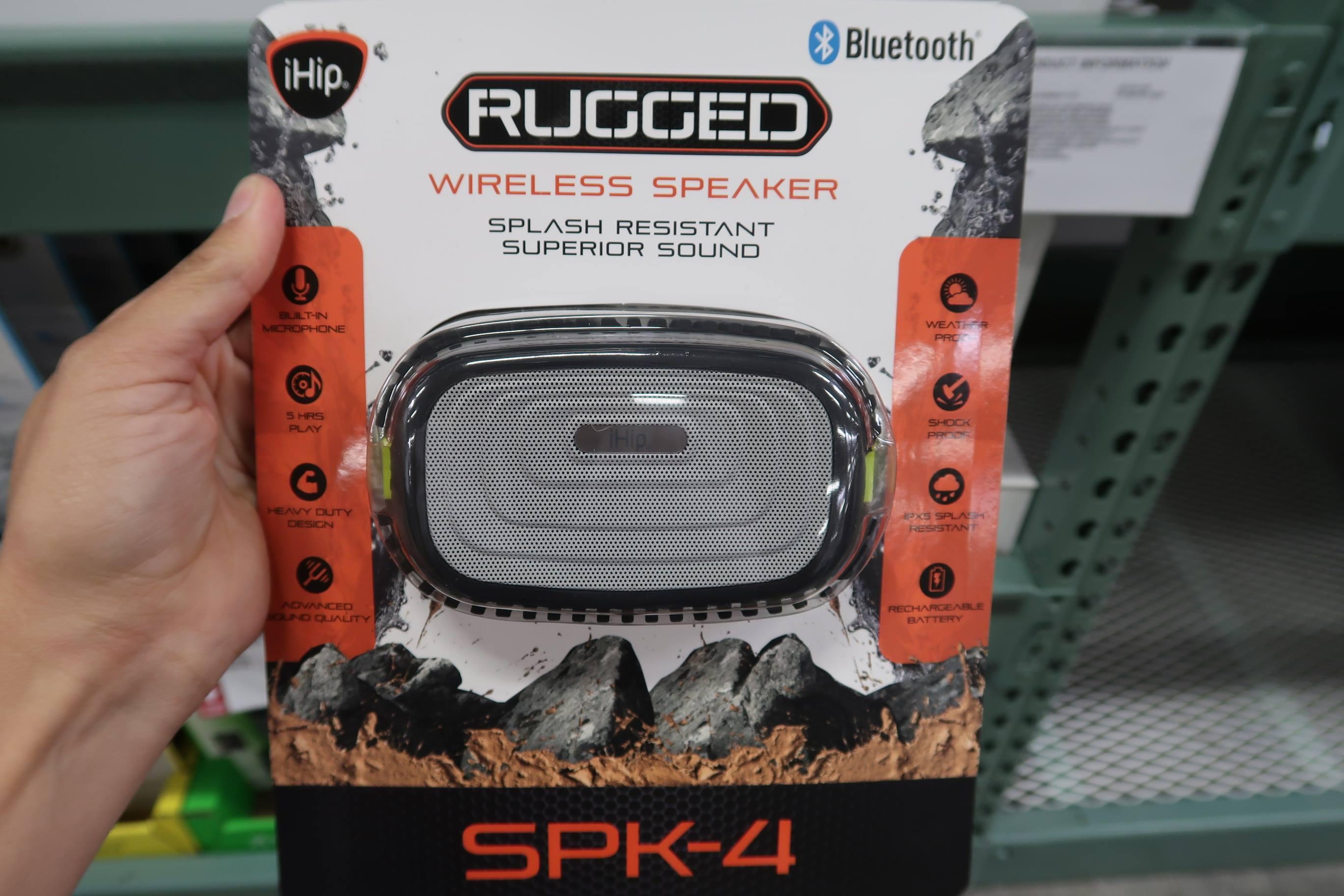 Ihip Rugged Wireless Speaker Manual Taraba Home Review