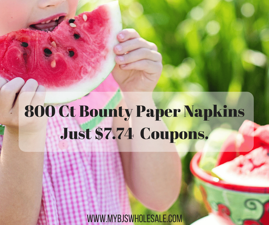 Bounty Quilited Paper Napkins, 800 ct $7.74