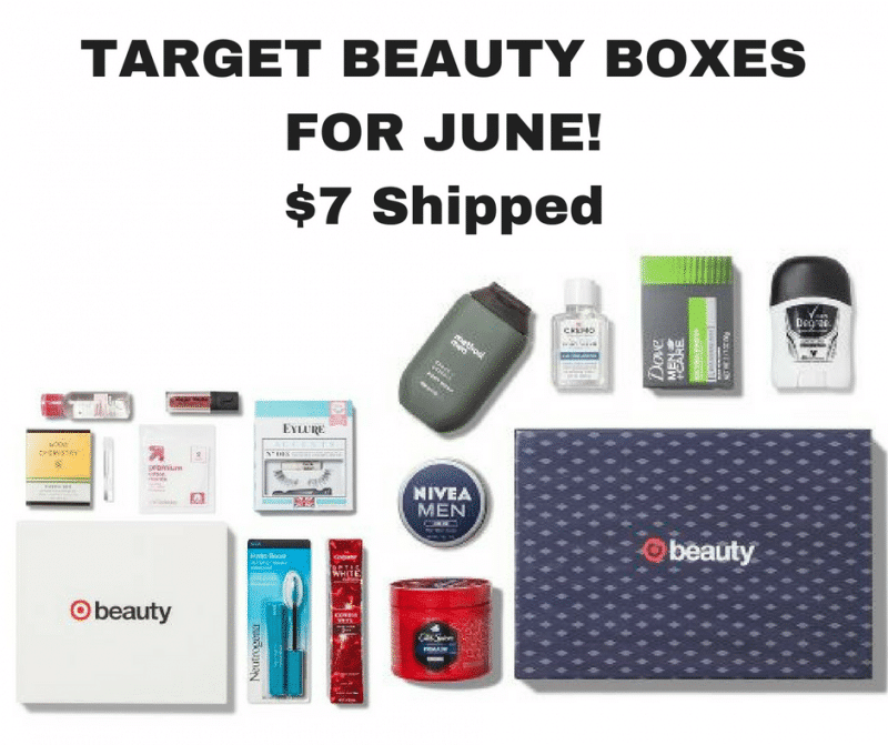 *NEW* Target Beauty Boxes For June Now Available $7