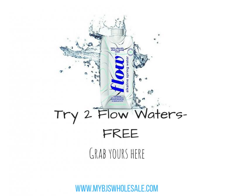 FREE! Box of Flow Water