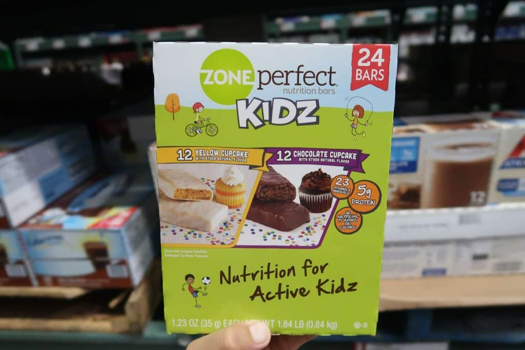 zone perfect kids nutrition bars