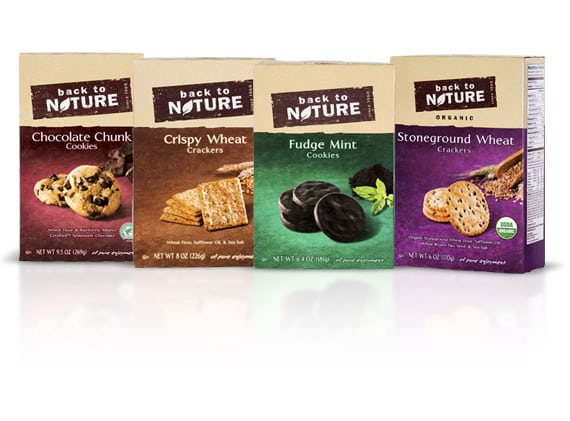 Free Back to Nature Cookies or Cracker Coupon