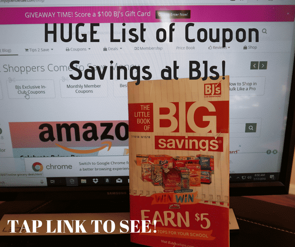 photo relating to Stella and Chewy Printable Coupons named BJs Wholesale Month-to-month Coupon Matchups My BJs Wholesale Club