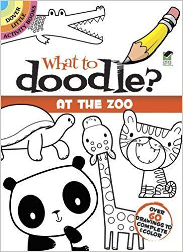 Amazon: $1.25 What to Doodle at The Zoo