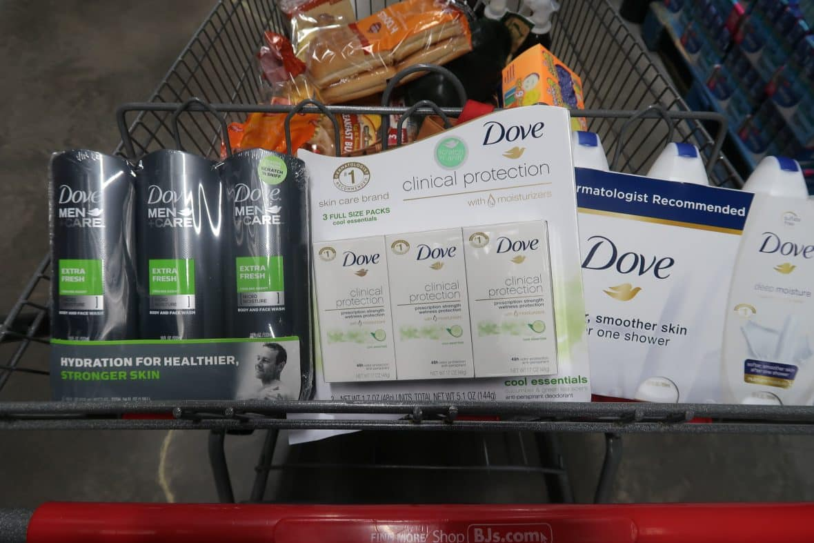 graphic regarding Dove Printable Coupons referred to as Fresh Dove Printable Discount coupons + Gasoline Package at BJs My BJs