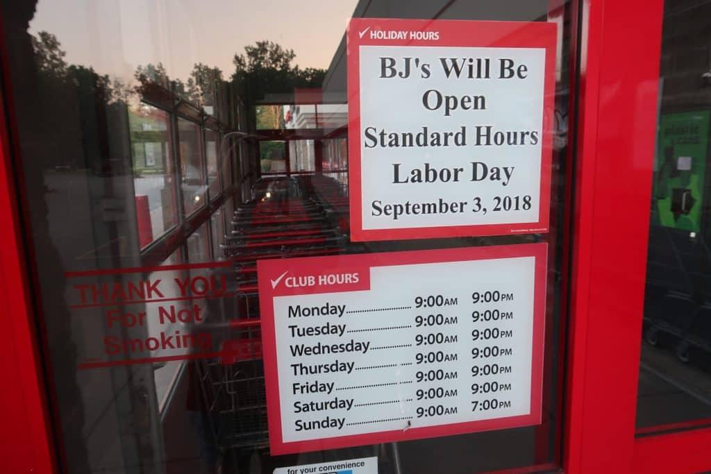 BJs-wholesale-club-labor-day-hours-2018