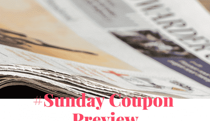 coupons coming in sunday newspaper