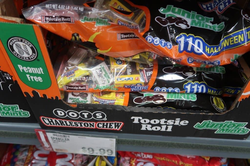 BJ's Halloween Candy