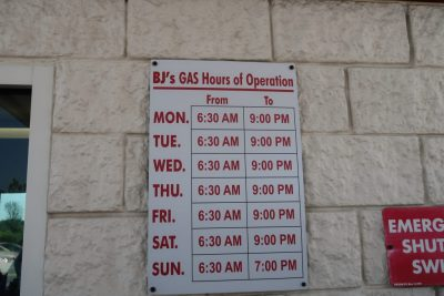 BJ's Gas Promo