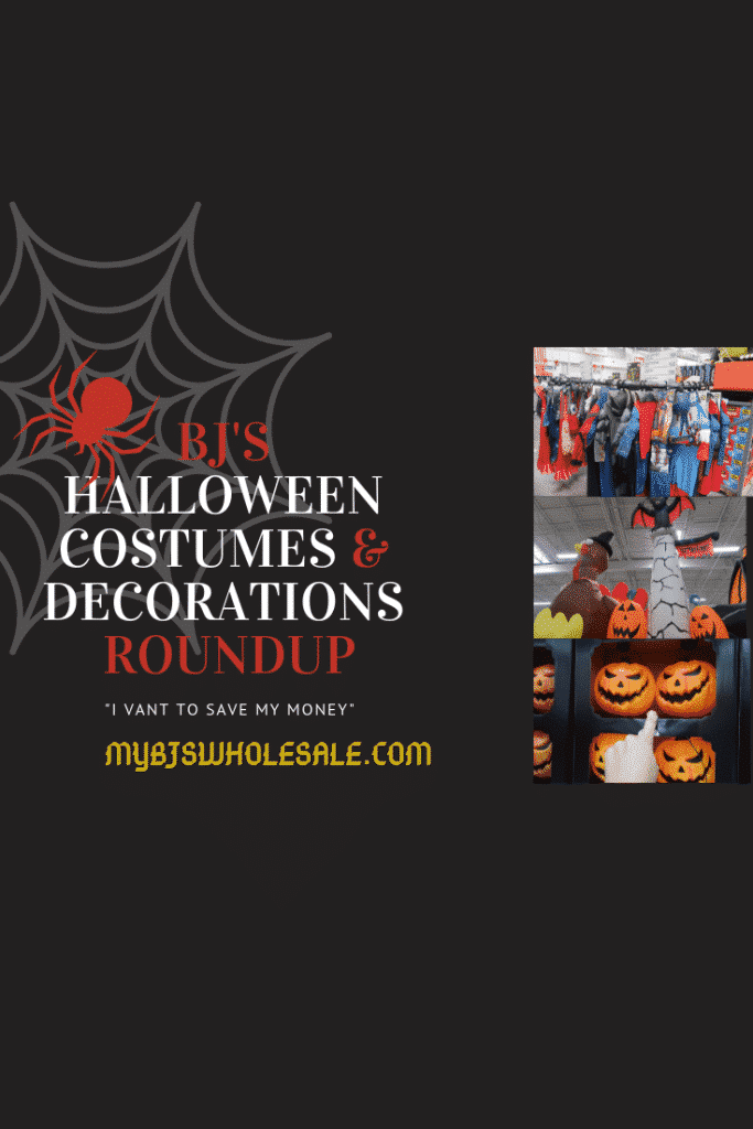 halloween decor and costumes round up at BJs wholesale club