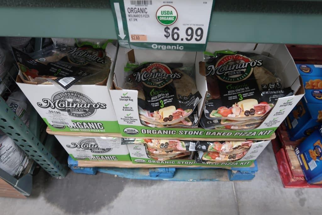 BJ's Wholesale Club is now carrying Molinaro's Organic Pizza Kit. Check out our family's review on this delicious pizza kit.