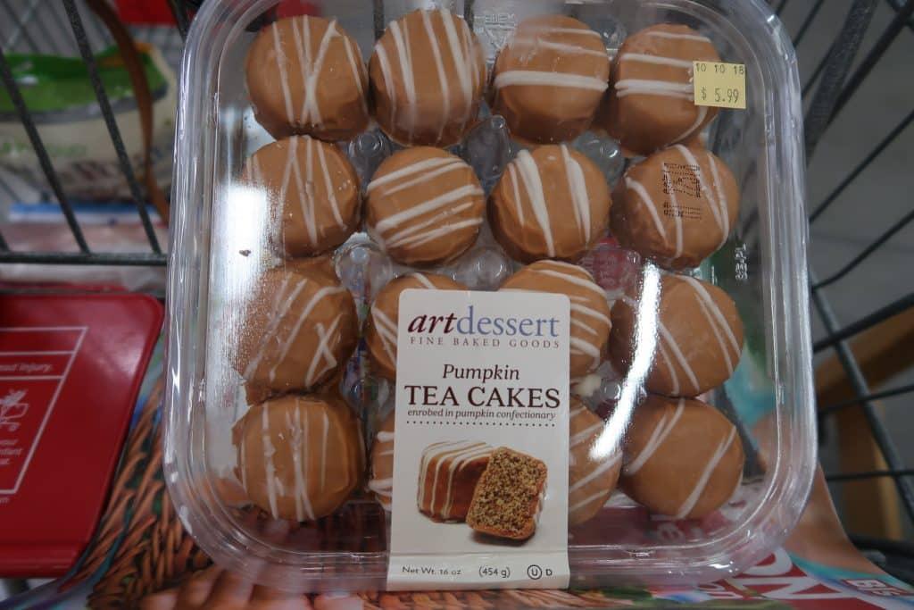 pumpkin tea cakes bjs wholesale club