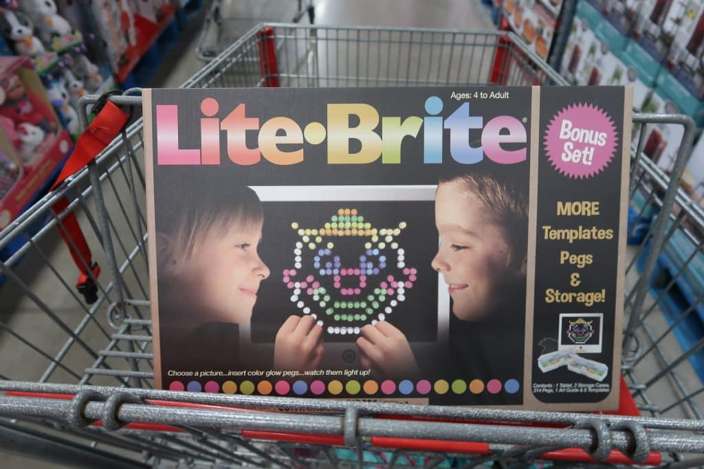 lite brite at Bjs