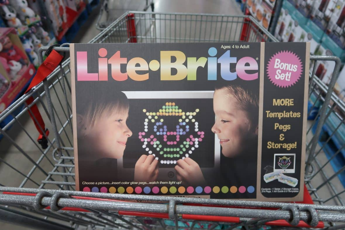 Throwback! Lite-Brite now at BJ's