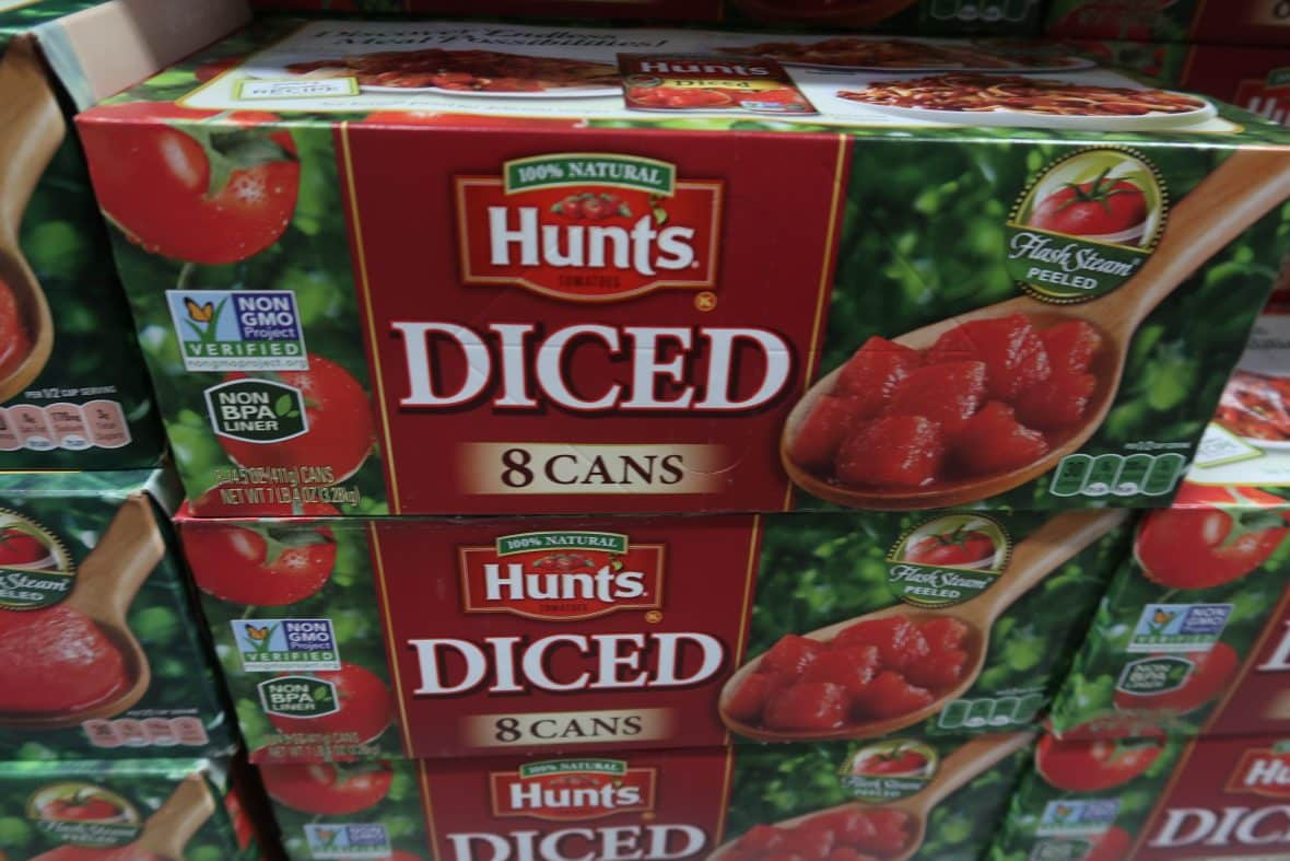 Hunts Diced Tomatoes & Paste as low as 35¢ each