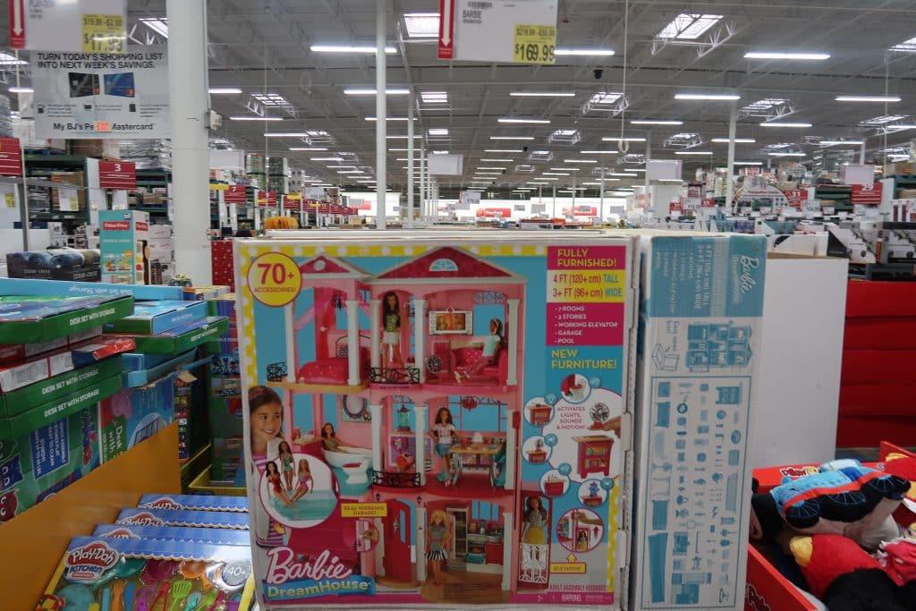 barbie dream house at BJs wholesale club