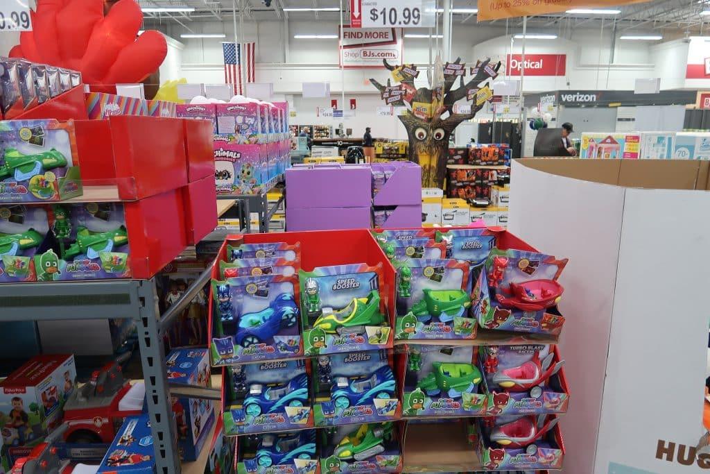 pj masks at BJs wholesale club toys