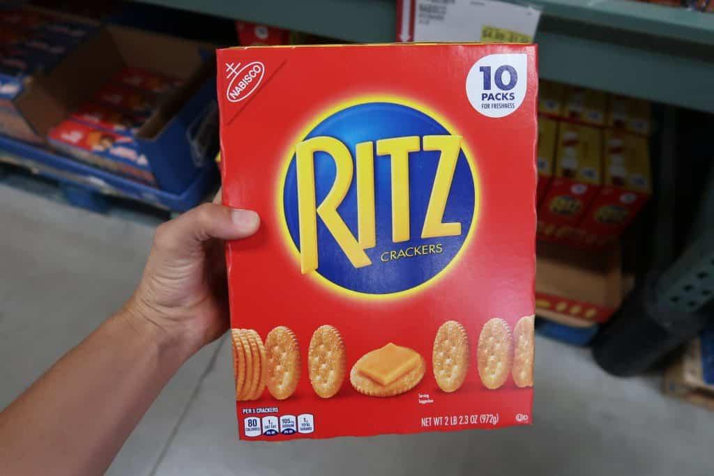 ritz crackers bjs wholesale club price