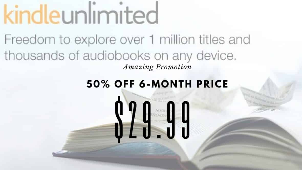 Kindle Unlimited $29 for 6 Months!   My BJs Wholesale Club