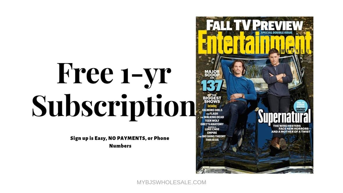 Free Entertainment Weekly
