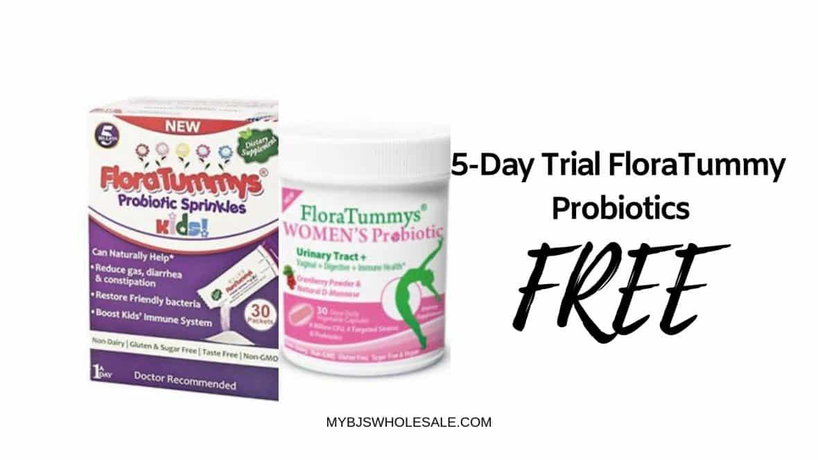 Free FloraTummy's Probiotics