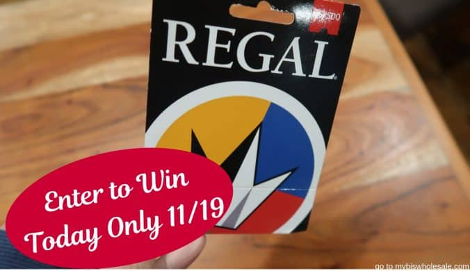 regal gift card giveaway