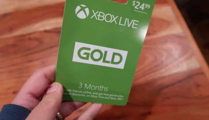 xbox live membership giveaway