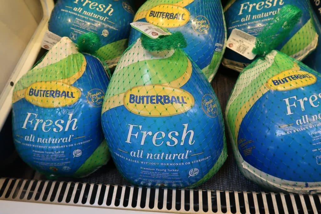 butterball turkeys at BJs wholesale club