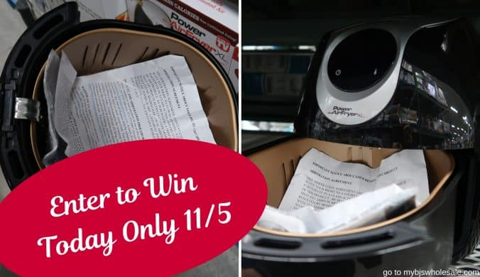 enter to win a air fryer giveaway mybjswholesale