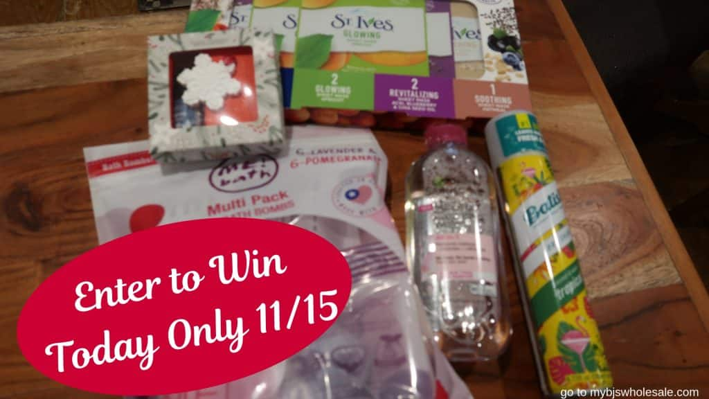 day 12 giveaway spa & beauty box mybjswholesale