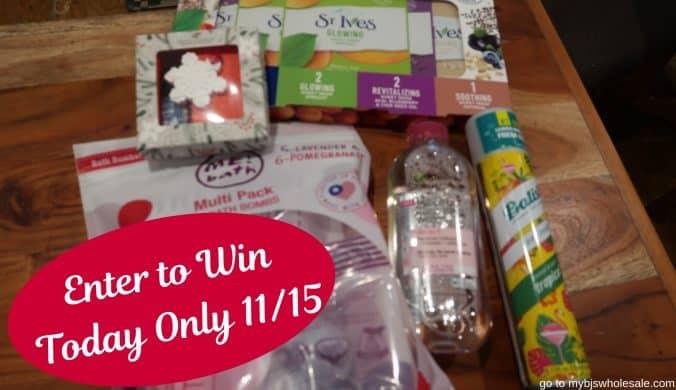 day 12 giveaway spa & beauty box mybjswholesale