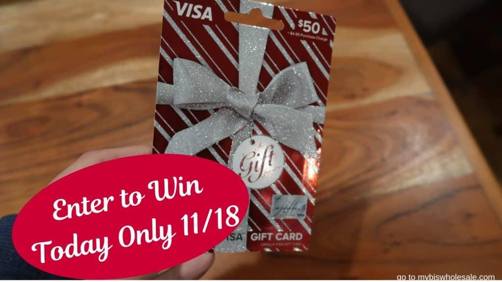 day 15 visa gift card