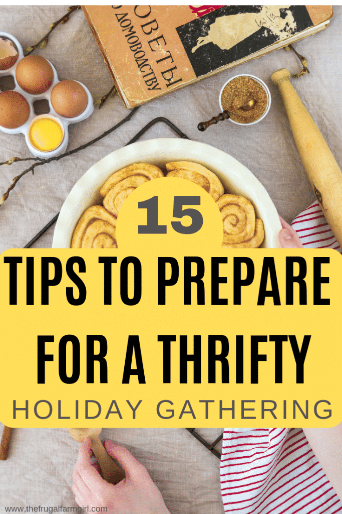 15 Tips You Need for A Thrifty Holiday Party!