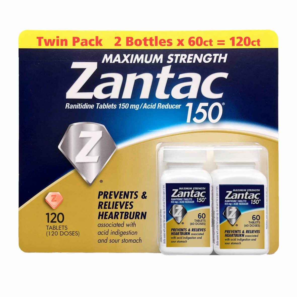 image about Zantac Printable Coupon named $3.00 off Zantac Printable Coupon My BJs Wholesale Club