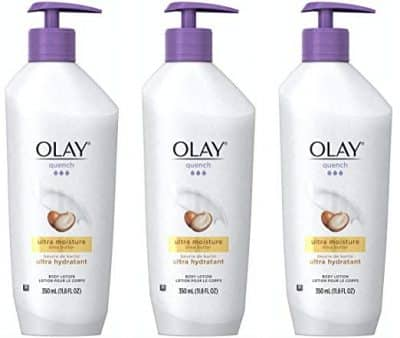 Olay Quench Shea Butter Body Lotion 3pk