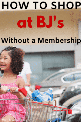 HOW TO SHOP BJs no membership