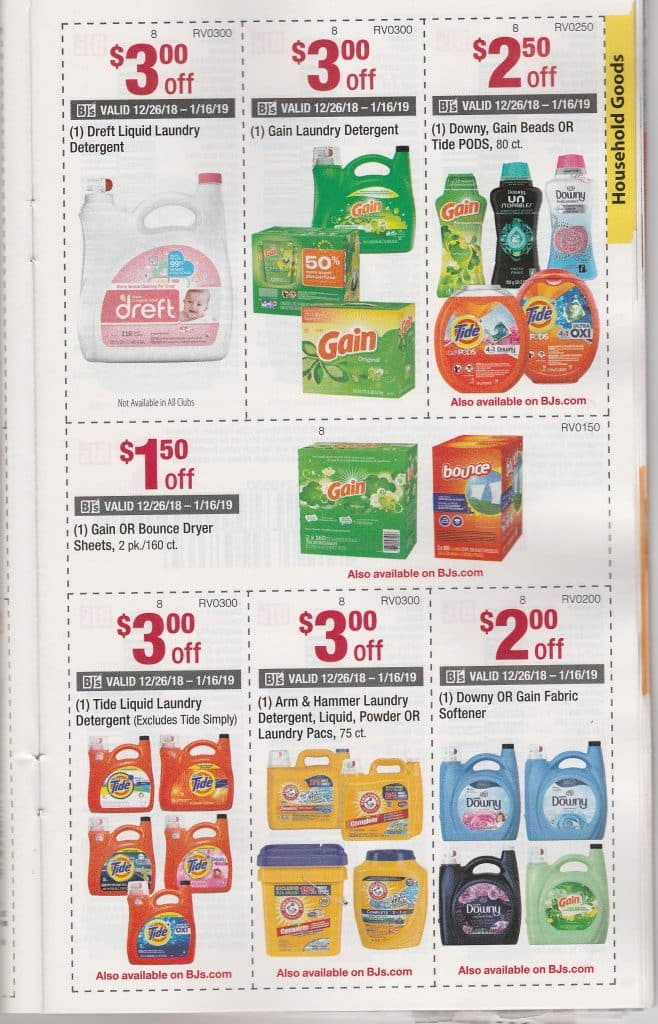 The latest BJs coupons from the Little Book of Big Savings