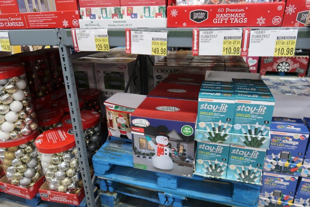 BJs Christmas Clearance