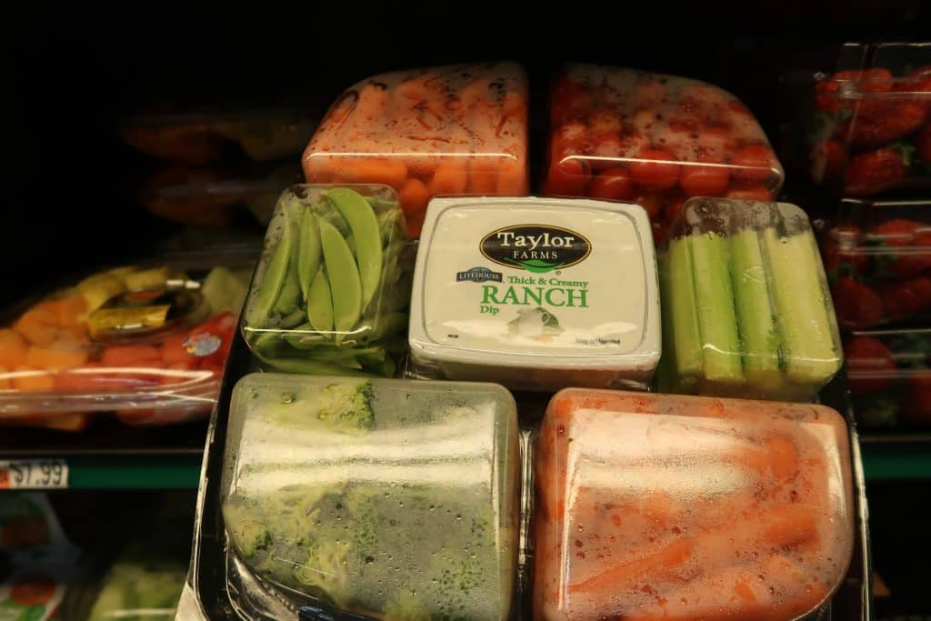 bjs veggie tray appetizer options