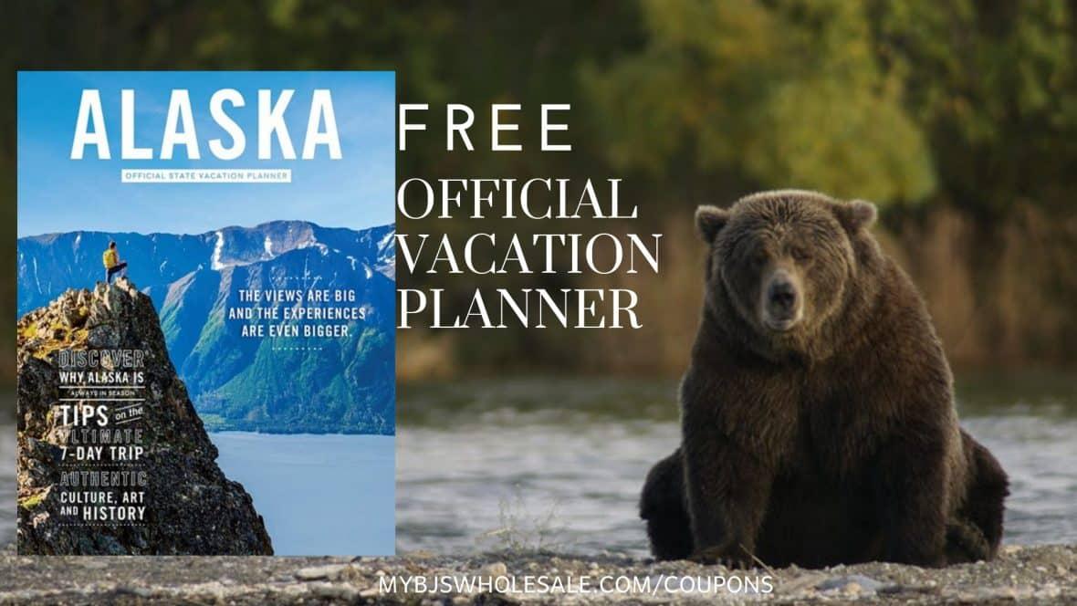 Free Alaska Vacation Planner